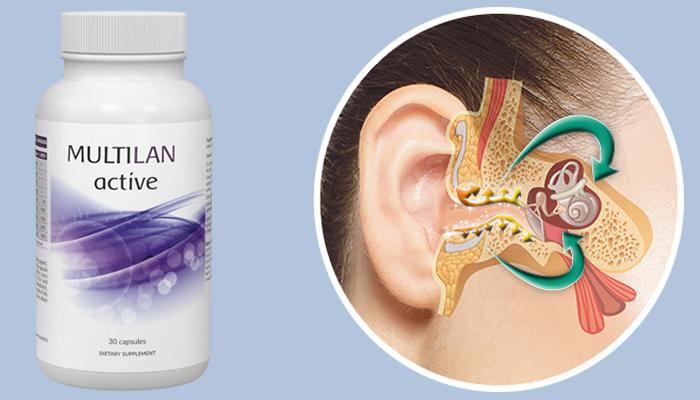 Multilan Active: in 28 tagen hört man sogar ein flüstern ohne hörgerät