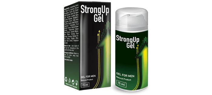 StrongUP Gel für potenz: und du bist der Beste im Sex