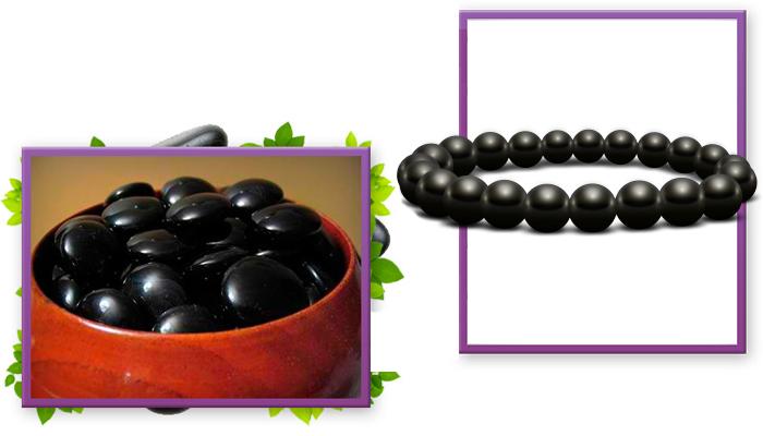 Bracelet Bianchi: Armband aus schwarzem Schungit für Ihre Langlebigkeit!