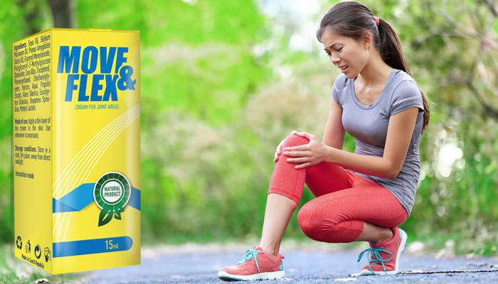 Move&Flex für gelenke: die creme bekämpft arthritis und arthrose