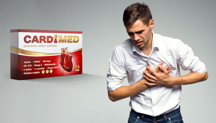 Cardimed: Blutdruck in Normbereich seit erster Anwendung und für immer