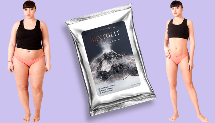 Bentolit: instant-abnehmgetränk mit vulkanerde