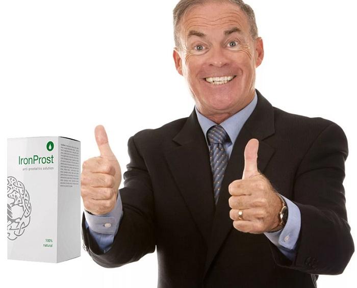 IronProst von Prostatitis: vergessen Sie lange über männliche Beschwerden!