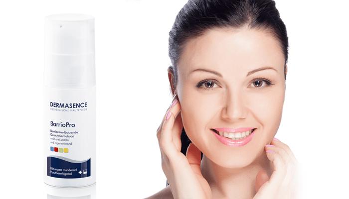Dermasence BarrioPro Gesichtsemulsion: Spezialpflege für irritierte, zu Rötungen neigende Haut