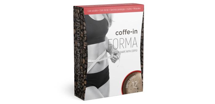 Coffe-in FORMA zum Abnehmen: Absorbiert Fett, wandelt es in Energie um
