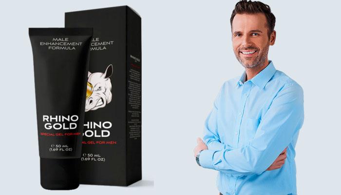 Rhino Gold Gel zur Penisvergrößerung: Bemerkenswerte Größe