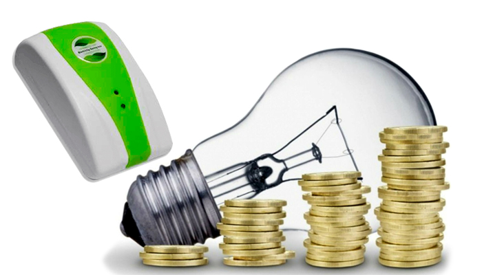 Electicity Saving Box um Strom zu sparen: die Anzahl der Kilowattstunden halbiert