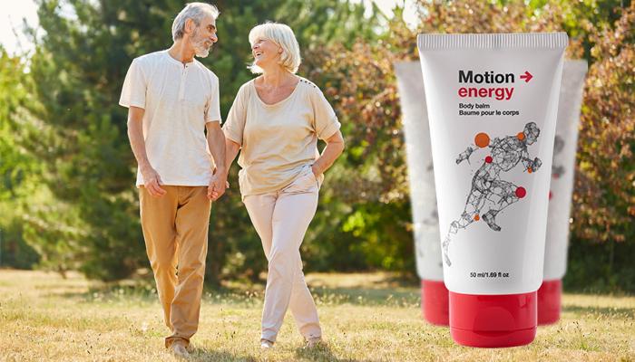 Motion Energy für Gelenke: ist ein Mittel, das Schmerzen bei Arthrose und Osteochondrose schnell beseitigen kann