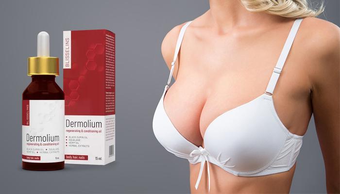 Dermolium zur Brustvergrößerung: ihre Brust um bis 4 Größen vergrößern