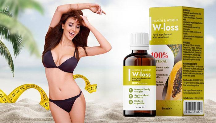 W-LOSS zur Gewichtsreduktion: Sie werden garantiert jeden Tag Gewicht verlieren